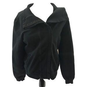 Lululemon black slalom jacket size 8